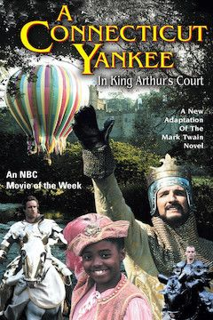 A Connecticut Yankee in King Arthur's Court movie poster.