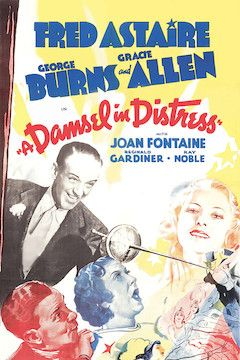 A Damsel in Distress movie poster.