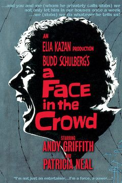 Poster for the movie A Face in the Crowd