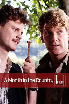 A Month in the Country movie poster.