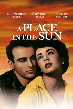 A Place in the Sun movie poster.