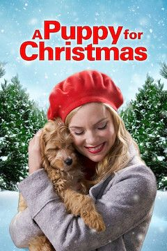 A Puppy for Christmas movie poster.