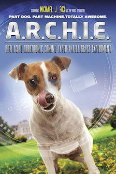 Poster for the movie A.R.C.H.I.E.