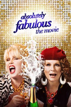 Absolutely Fabulous: The Movie movie poster.