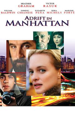 Adrift in Manhattan movie poster.