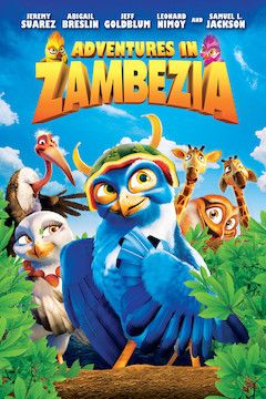 Poster for the movie Adventures In Zambezia