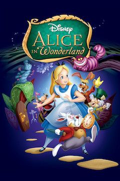Poster for the movie Alice in Wonderland