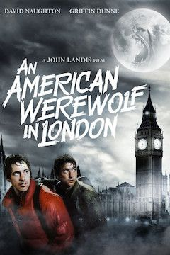 An American Werewolf in London movie poster.