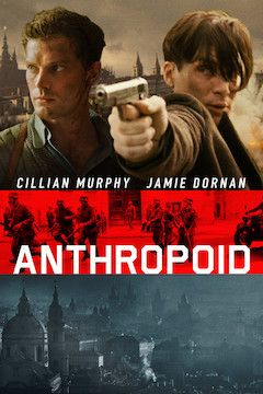 Anthropoid movie poster.