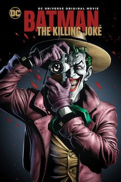 Batman: The Killing Joke movie poster.