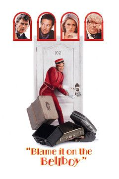 Blame It on the Bellboy movie poster.