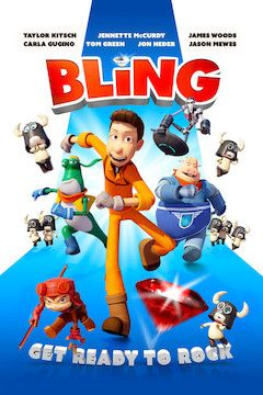 Poster for the movie Bling