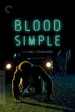Poster for the movie Blood Simple