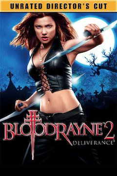 BloodRayne movie poster.