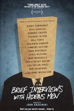 Brief Interviews With Hideous Men movie poster.