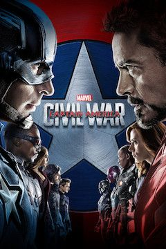 Captain America: Civil War movie poster.