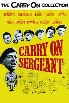 Carry on Sergeant movie poster.