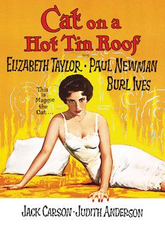 Poster for the movie Cat on a Hot Tin Roof