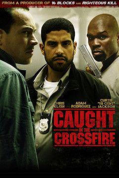 Caught in the Crossfire movie poster.