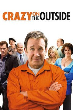 Crazy on the Outside movie poster.