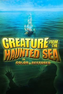 Creature From the Haunted Sea movie poster.