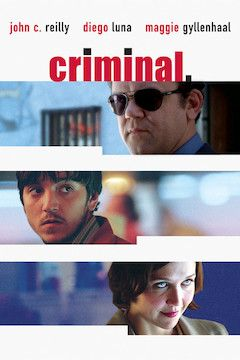 Criminal movie poster.