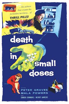 Death in Small Doses movie poster.