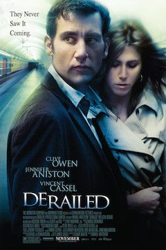 Derailed movie poster.