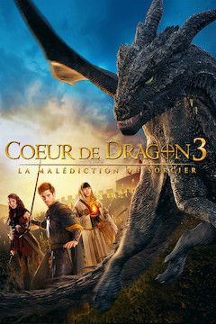 Dragonheart 3: The Sorcerer's Curse movie poster.