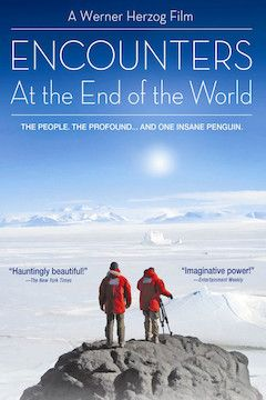 Encounters at the End of the World movie poster.