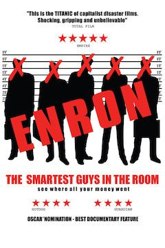 Enron: The Smartest Guys in the Room movie poster.