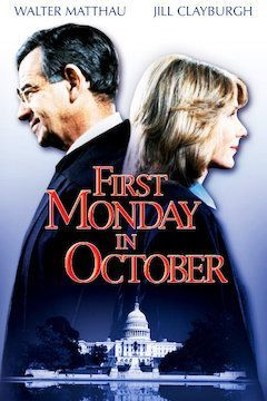 First Monday in October movie poster.