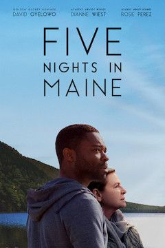 Five Nights in Maine movie poster.