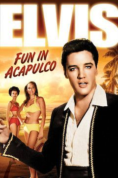 Fun in Acapulco movie poster.