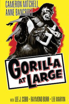 Gorilla at Large movie poster.