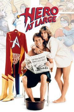 Hero at Large movie poster.