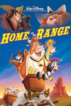 Home on the Range movie poster.