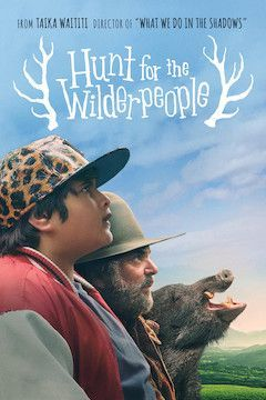 Hunt for the Wilderpeople movie poster.