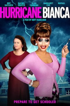 Hurricane Bianca movie poster.