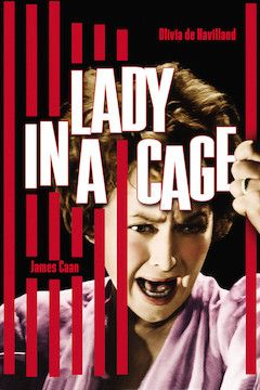 Lady in a Cage movie poster.