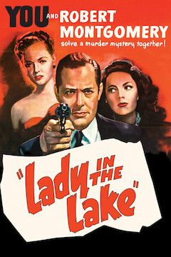Lady in the Lake movie poster.