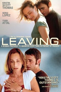 Leaving movie poster.