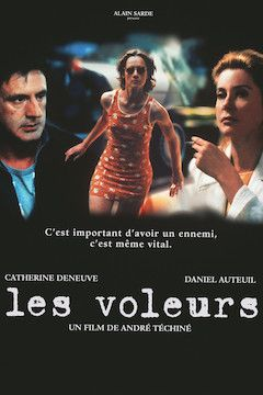 Les Voleurs movie poster.