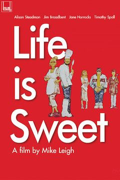 Life is Sweet movie poster.