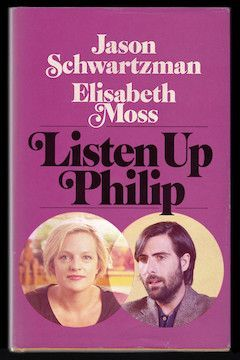 Listen Up Philip movie poster.