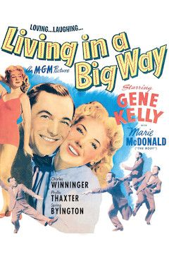 Living in a Big Way movie poster.