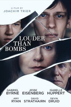 Louder Than Bombs movie poster.