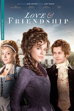 Love & Friendship movie poster.
