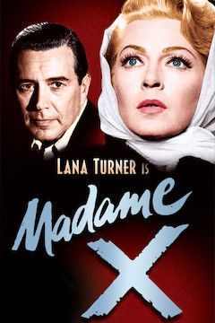 Madame X movie poster.
