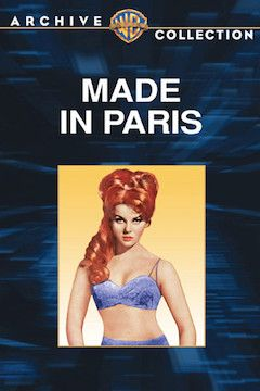 Made in Paris movie poster.